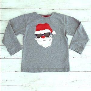 Gymboree Cool Santa in Shades Long Sleeve Shirt